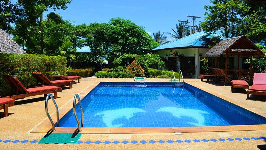 Natural Salt Water Swimming Pool Ananda