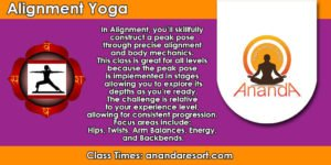 Mon - Alignment Flow @ Ananda Yoga & Detox Center | Tambon Ko Pha-ngan | Chang Wat Surat Thani | Thailand