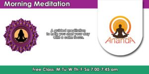 Free Guided Morning Meditation @ Ananda Yoga & Detox Center | Tambon Ko Pha-ngan | Chang Wat Surat Thani | Thailand