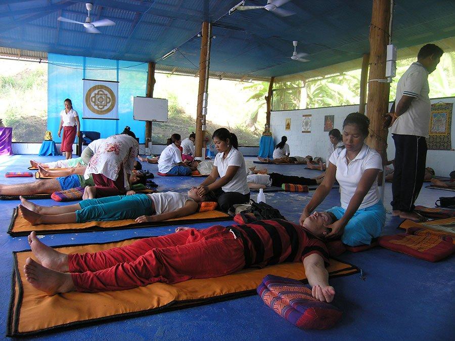 Thai Massage at Ananda