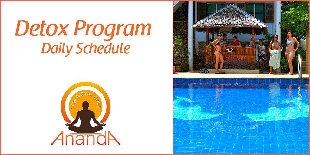 Detox Program Daily Schedule
