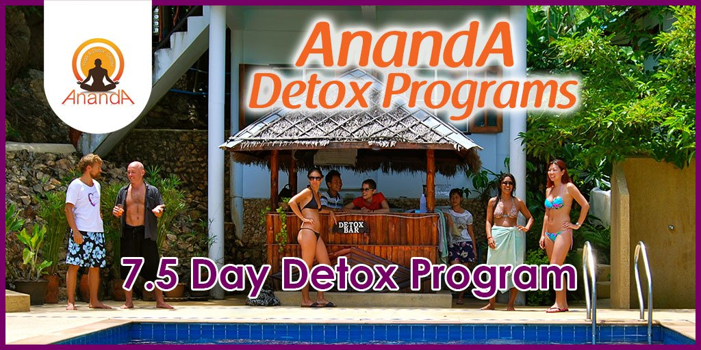 detox thailand programs ananda yoga detox center. Black Bedroom Furniture Sets. Home Design Ideas