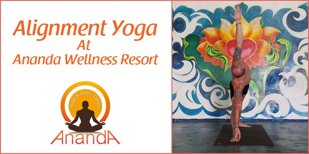 At Ananda Yoga Detox Center Were Offering Alignment Because It Is One Of The Best Ways To Accommodate Different Skill Levels Abilities