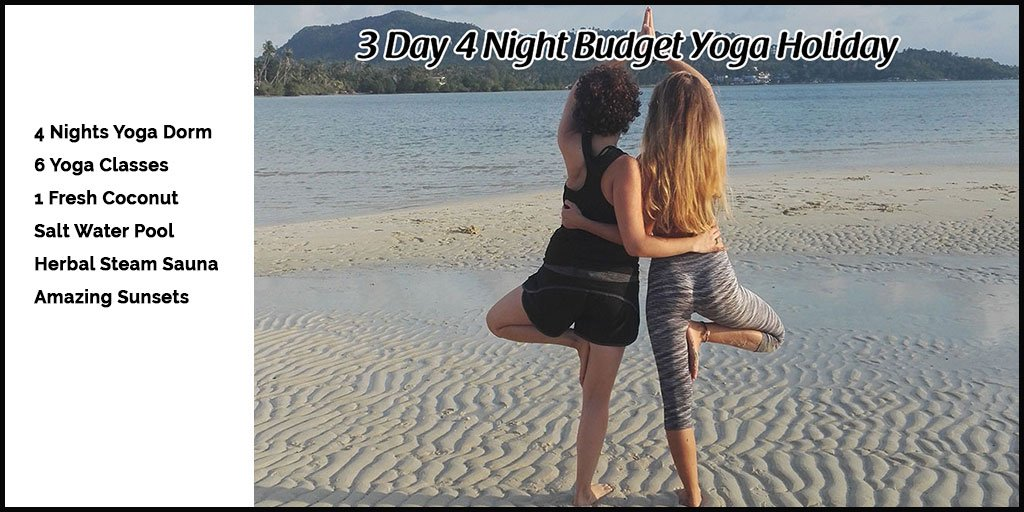 Budget Yoga Holiday