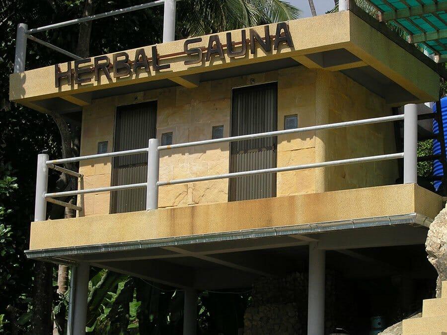 Herbal sauna in Thailand