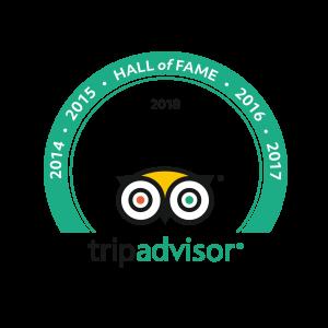 Tripadvisor Certificate of Excellence 2018 Logo